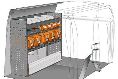 Example van equipment Connect CN 1210 08