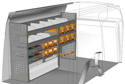 Example van equipment Connect CN 1710 01