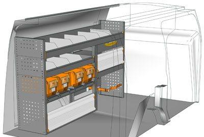 Example van equipment Connect CN 1710 02