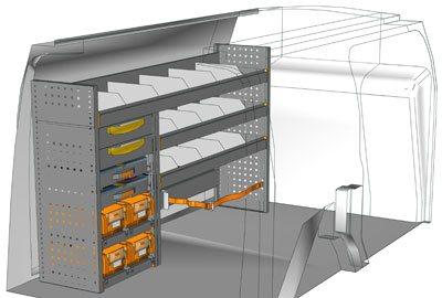 Example van equipment Connect CN 1710 03