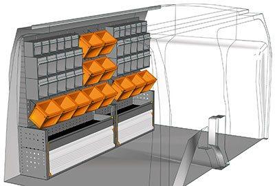 Example van equipment Connect CN 1711 01