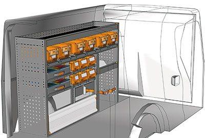 Ejemplo de equipamientos para furgonetas Citan L2 H1 KA 1510 04
