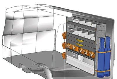 Equipamiento Transporter TS 1212-10