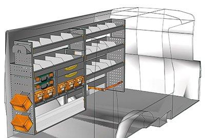 Aménagement Transporter TS 2412-03