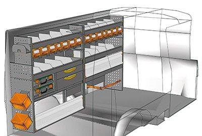 Aménagement Transporter TS 2412-04