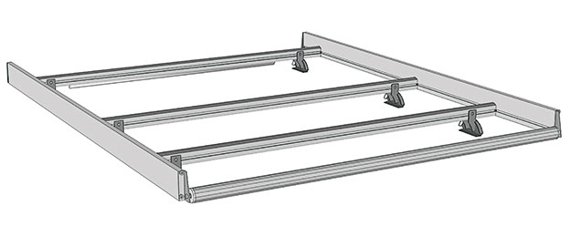 Roof rack for Combo 2012