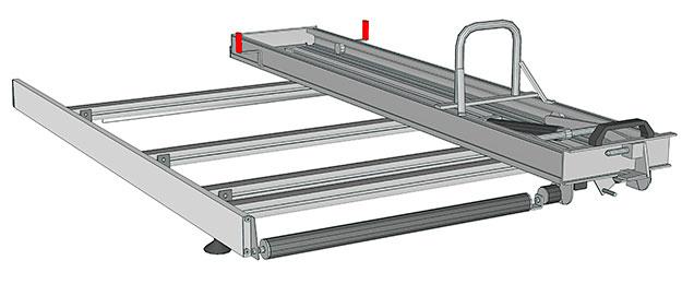 Portes-échelles pour Transit Connect