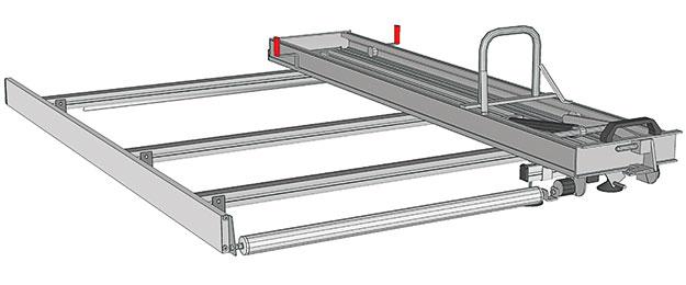 Store Van - Portes-échelles pour Doblò