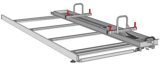 Ladder rack for NV400