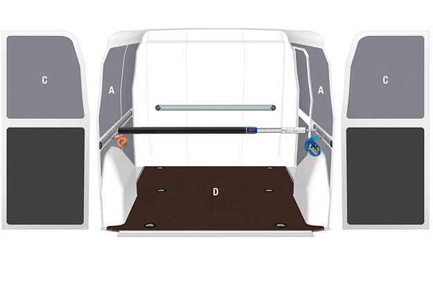 Pianali e pannellature per furgoni Citan - Rivestimenti interni per Mercedes-Benz