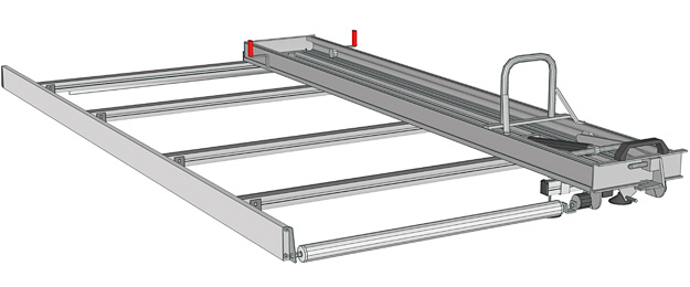Ladder rack for Transporter