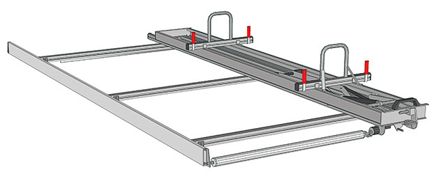 Ladder rack for Ducato
