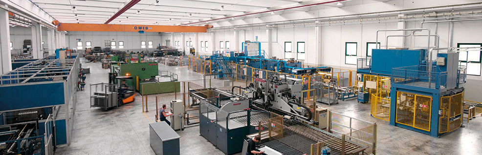 FAMI plants bending department