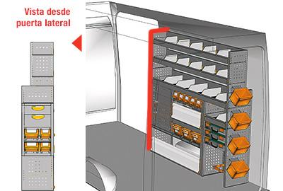 Ejemplo de equipamientos para furgonetas H350 L3H2 HH 1717 09