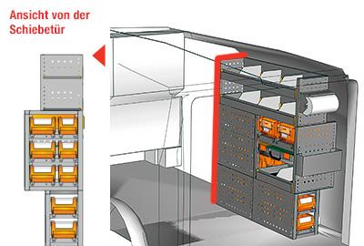 Fahrzeugeinrichtungen für Vito VT 1012 04