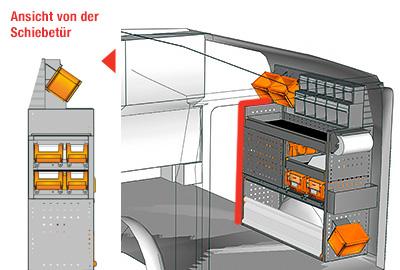 Fahrzeugeinrichtungen für Vito VT 1012 06