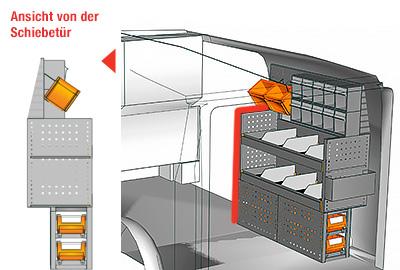 Fahrzeugeinrichtungen für Vito VT 1012 07