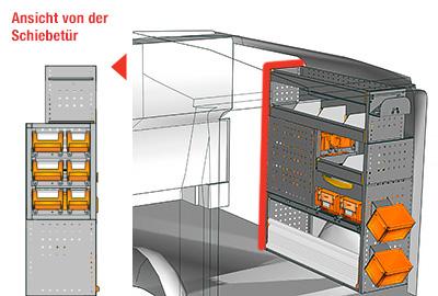 Fahrzeugeinrichtungen für Vito VT 1012 25