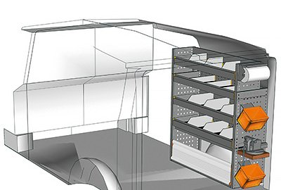 Fahrzeugeinrichtungen für Vito VT 1012 21
