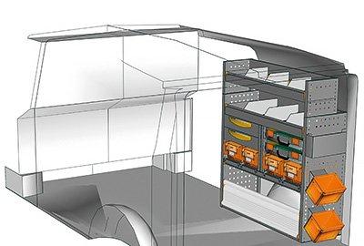 Fahrzeugeinrichtungen für Vito VT 1012 22