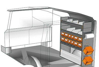Fahrzeugeinrichtungen für Vito VT 1012 30