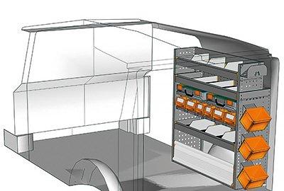Fahrzeugeinrichtungen für Vito VT 1012 31