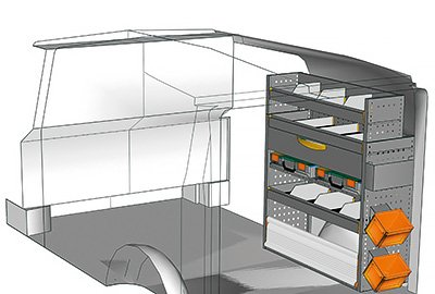 Fahrzeugeinrichtungen für Vito VT 1012 32