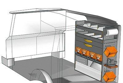 Fahrzeugeinrichtungen für Vito VT 1012 34