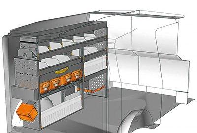 Fahrzeugeinrichtungen für Vito VT 1712 02