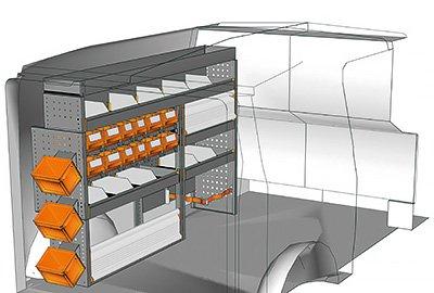 Fahrzeugeinrichtungen für Vito VT 1712 05