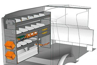 Fahrzeugeinrichtungen für Vito VT 1712 09