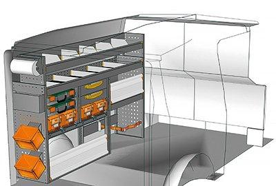 Fahrzeugeinrichtungen für Vito VT 1712 10