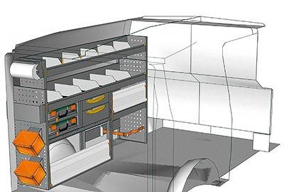 Fahrzeugeinrichtungen für Vito VT 1712 11