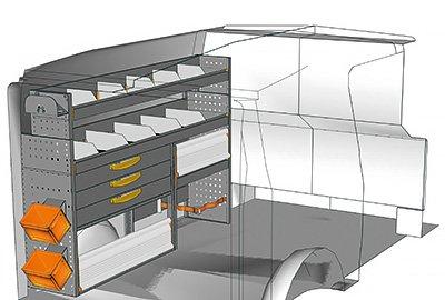 Fahrzeugeinrichtungen für Vito VT 1712 12