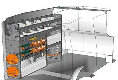 Fahrzeugeinrichtungen für Vito VT 1712 13