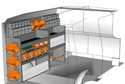 Fahrzeugeinrichtungen für Vito VT 1712 16