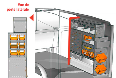 Exemples aménagement Vito L1LH1 VT 1012 05