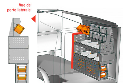 Exemples aménagement Vito L1LH1 VT 1012 07