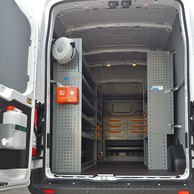 Ford Transit Roof Rack >> Gallery Commercial Van Equipment | Ford | Store Van