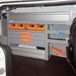 Allestimenti furgoni per Ford Transit Connect
