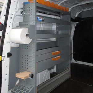 Allestimento furgoni per Ford Transit Custom