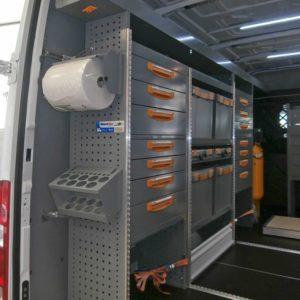 Allestimenti furgoni per Iveco Daily