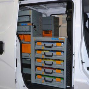 Allestimenti furgoni per Nissan NV200