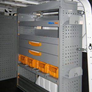 Allestimenti furgoni per Nissan NV300