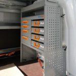 Allestimenti furgoni per Nissan NV400