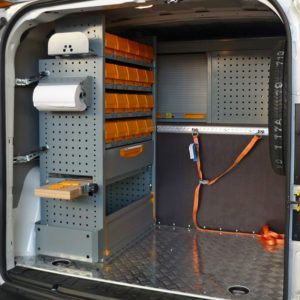 Allestimenti furgoni per Opel Combo