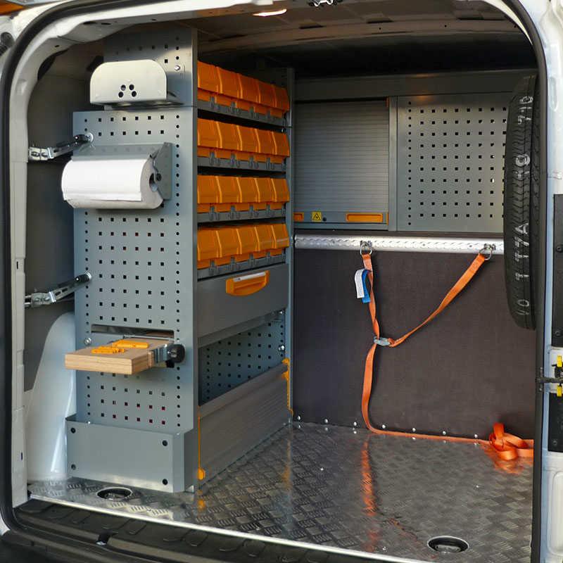 Scaffali furgone 28 images ripiani per scaffali per for Allestimento furgoni wurth
