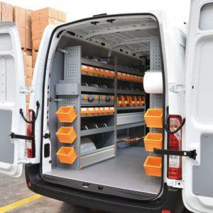 Allestimenti furgoni per Renault Master