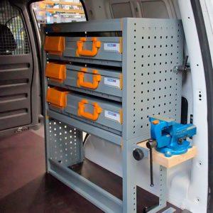 Equipamientos furgonetas Volkswagen Caddy
