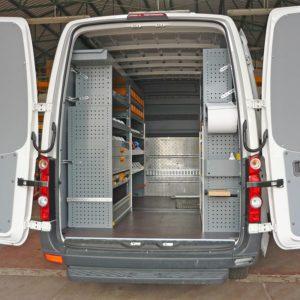 Equipamientos furgonetas Volkswagen Crafter